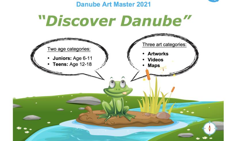Danube Art Master 2021 – NATEČAJ DONAVSKE KOMISIJE (ICPDR)
